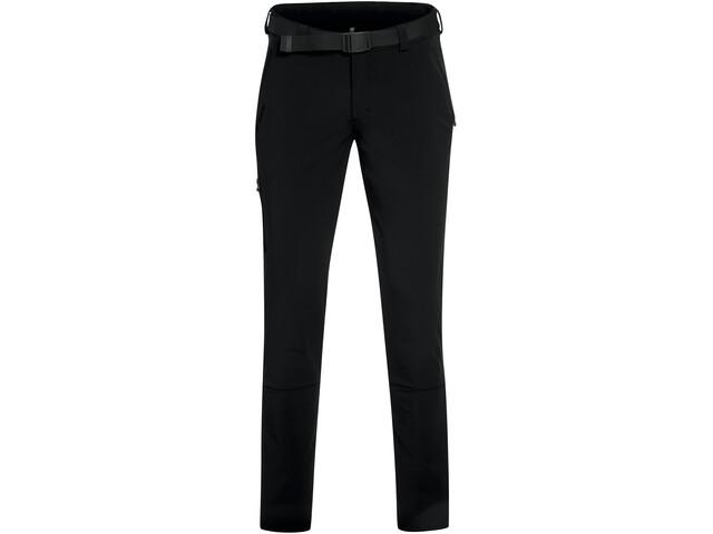 Maier Sports Naturno Slim Pantalones Trekking Hombre, black